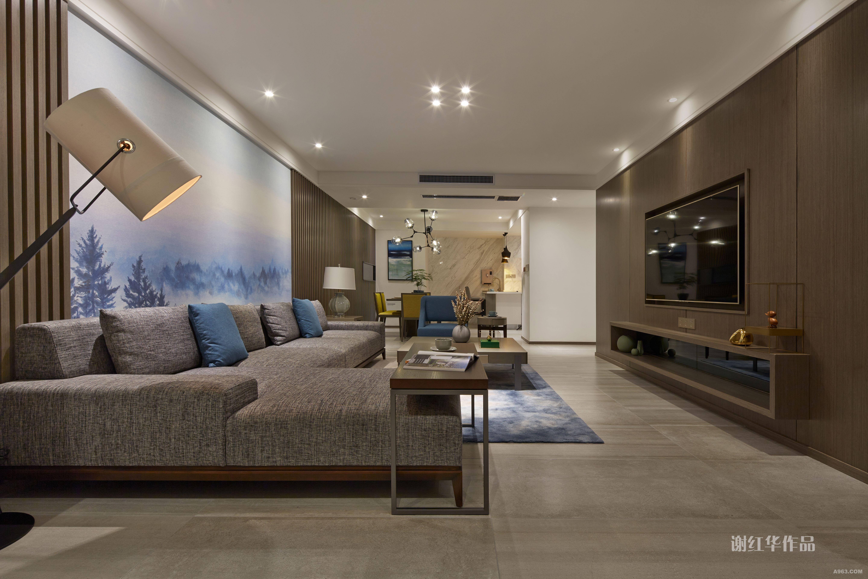 郑州现代简约住宅设计 - 普通家装 - 谢